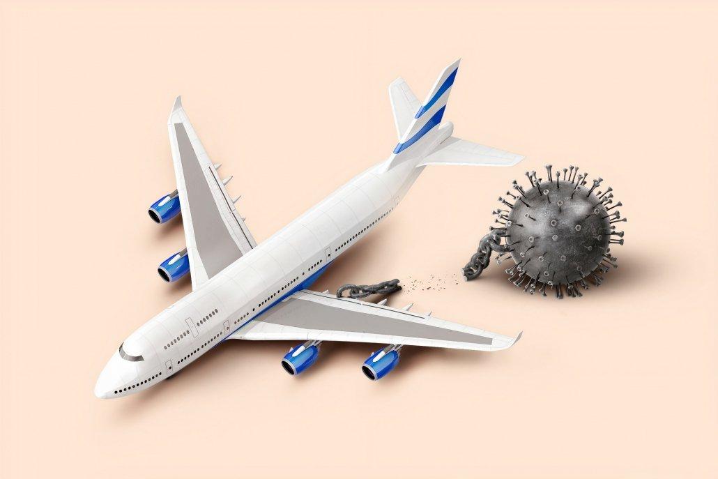Aeroplane and COVID Travel